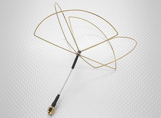 1.2GHz zirkular polarisierte Antenne RP-SMA (nur Empfänger)