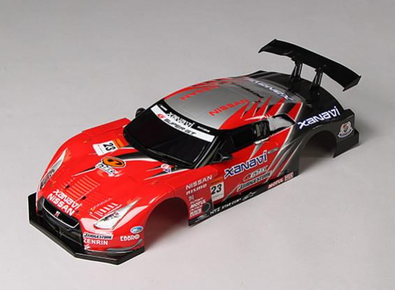 01.10 GT-R R35 GT Beendet Körper Shell