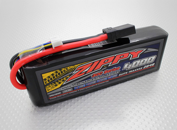 ZIPPY Traxxas kompatibel 4000mAh 3S1P 30C Lipo-Pack (Anzüge TRX2849)