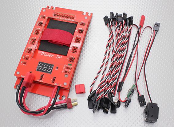 Strom DP 30A Servo Energieverteiler (12 Eingangs- / 34-Ausgabe)