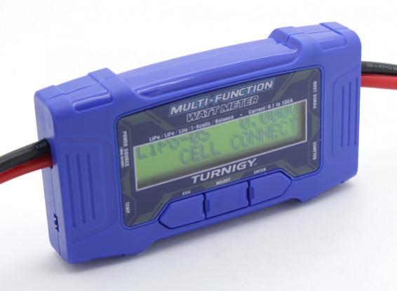 Turnigy 100A 60V Multi-Funktions-Watt Meter w / Temperatursensor