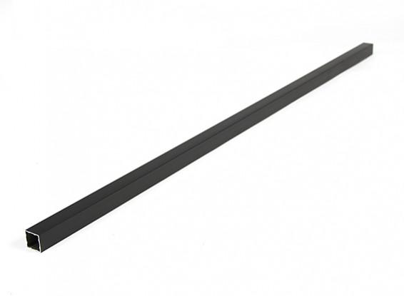 Aluminium-Vierkantrohre DIY Multi-Rotor 15x15x600mm (schwarz)