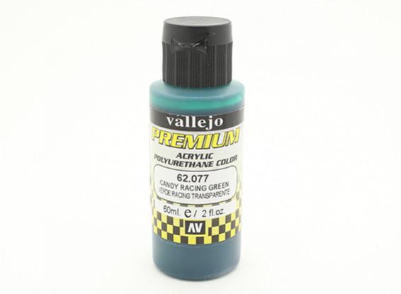 Vallejo Premium-Farbe Acrylfarbe - Candy Racing Green (60 ml)