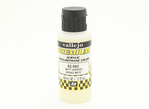 Vallejo Premium Color Acrylic Varnish - Matte (60ml) 62.062