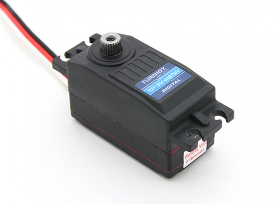 Turnigy ™ TGY-SM-4487MV Wasserdicht Low Profile Lenkservo 8.3kg / 0,07 Sec / 39g