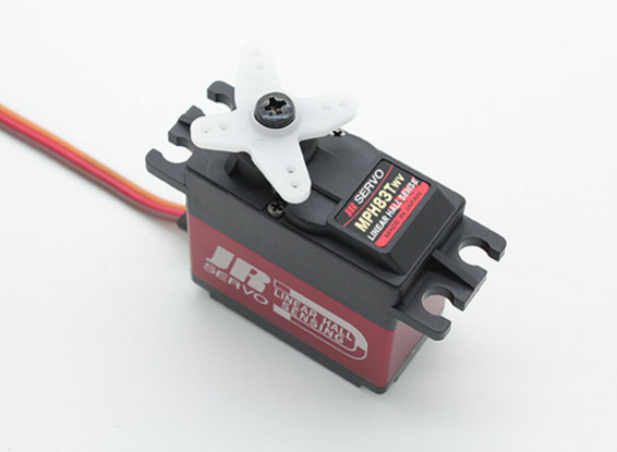 JR MPH83TWV Linear-Hall-Sensing breite Spannung Brushless Servo mit Metallgetriebe und Heatsink