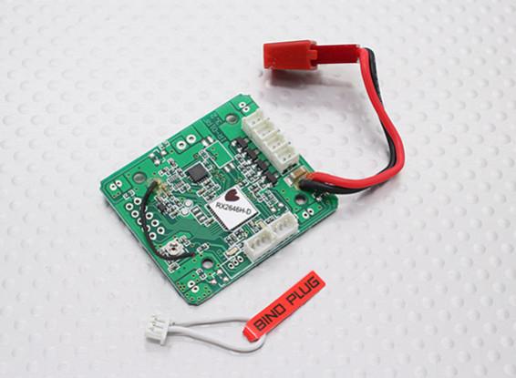 Hauptplatine (RX2646H-DS) - Walkera QR W100S Wi-Fi FPV Micro Quadcopter