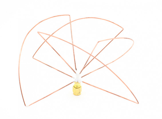 Zirkular polarisierte 1,2 GHz Empfänger Antenne (RP-SMA) (LHCP) (Kurz-)