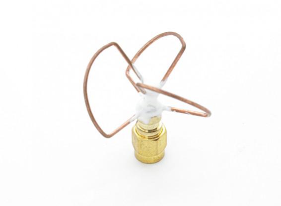 5.8GHz zirkular polarisierte Antenne RP-SMA-Sender Nur (Short)