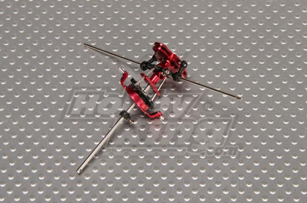 Walkera 4 # 3B CNC Metall Rotor-Upgrade w / Balance Bar (Walkera Teil # HM-4 # 3B-Z-09 - HM-4 # 3B-Z-10)