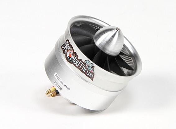 Dr. Mad Thrust 90mm 11-Blatt-Legierung EDF 1700kv Motor - 2300watt (6S)