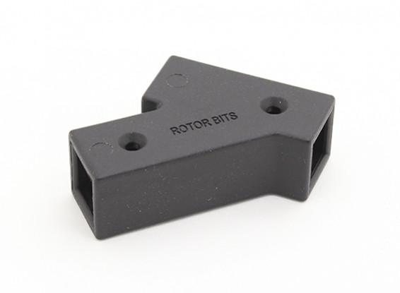 RotorBits 45 Grad-Anschluss (Schwarz)