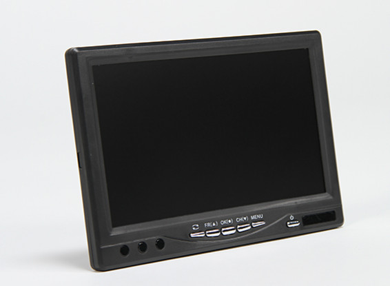 7 Zoll 720 × 576 (PAL) 720 × 480 (NTSC) 5.8Ghz 32CH FPV Monitor & Receiver mit DVR SkyZone RC800 DVR
