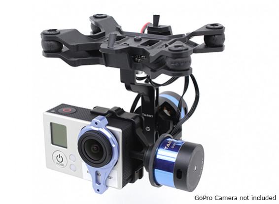 Tarot T-2D-V2 GoPro 3 Brushless Kamera Gimbal und ZYX22-Controller