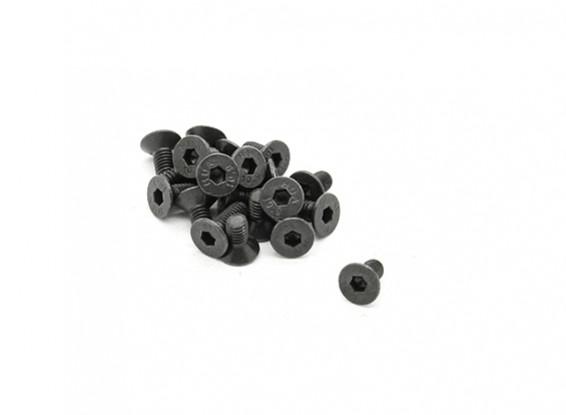 RJX X-TRON 500 M3 x 6 mm C / Sunk Hex Schrauben # X500-8010 (20pcs)