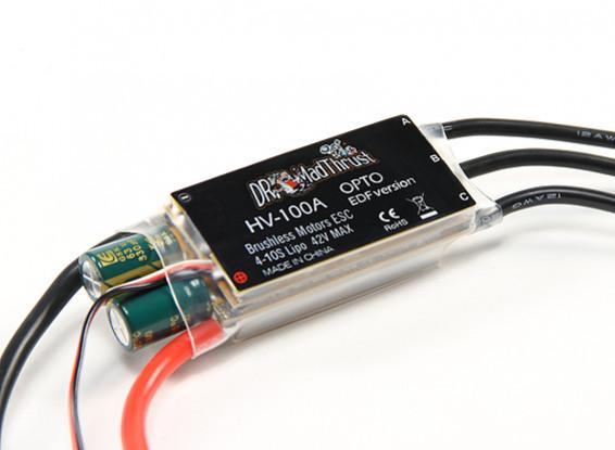 Dr. Mad Thrust 100A High Voltage ESC für EDF (Opto) (4 ~ 10S)