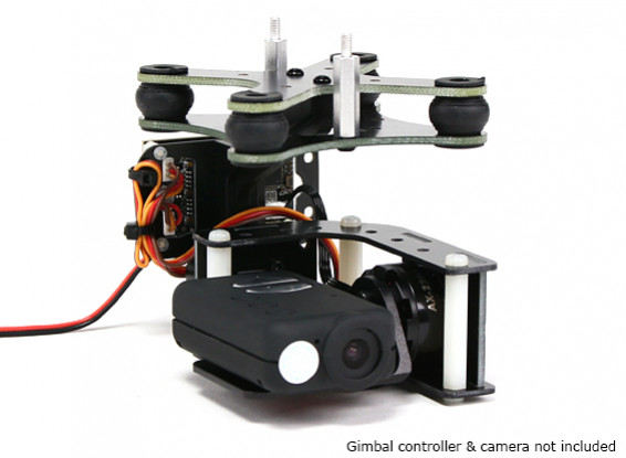 Turnigy ™ Mobius 2 Achsen Gimbal mit AX2206 Motors W / O-Controller