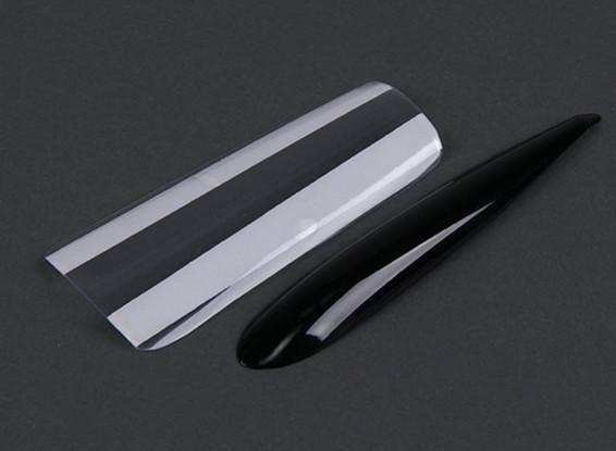 Durafly ™ EFX Racer - Ersatz-Kunststoff-Unterboden Skid