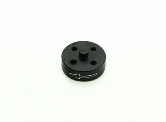 CNC Aluminium Quick Release Self-Anzugs Prop-Adapter - Schwarz (Prop-Seite) (gegen den Uhrzeigersinn)
