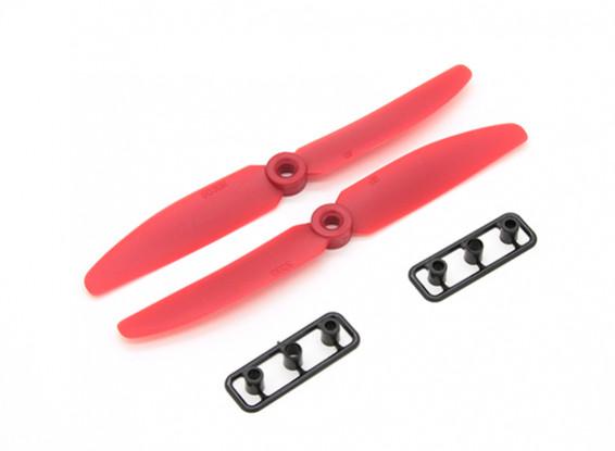 Gemfan Propeller 5x3 RED (CW / CCW) (2 Stück)