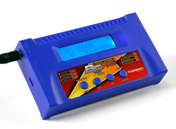 Turnigy B6 PRO 50W 6A Balance Ladegerät (blau)