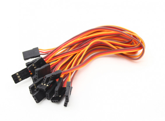 20cm Stecker auf Stecker Servokabel (JR) 26AWG (10pcs / set)