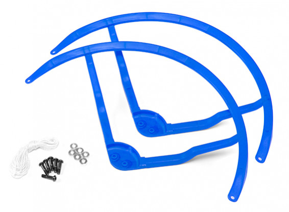 8-Zoll-Kunststoff-Multi-Rotor Propeller Schutz für DJI Phantom 1 - Blau (2set)