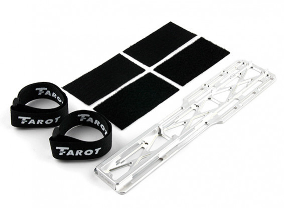 Tarot T-Rex 600E PRO / 600EFL PRO Aluminium Batteriemontage Tray (TL60215-01)