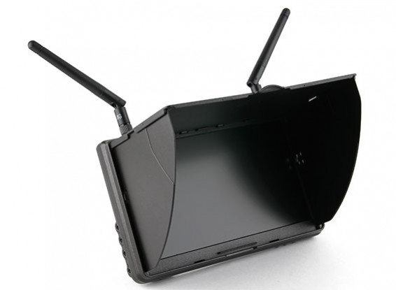 7 Zoll 800 x 480 5,8GHz Diversity FPV-LCD-Monitor Boscam Galaxy D2