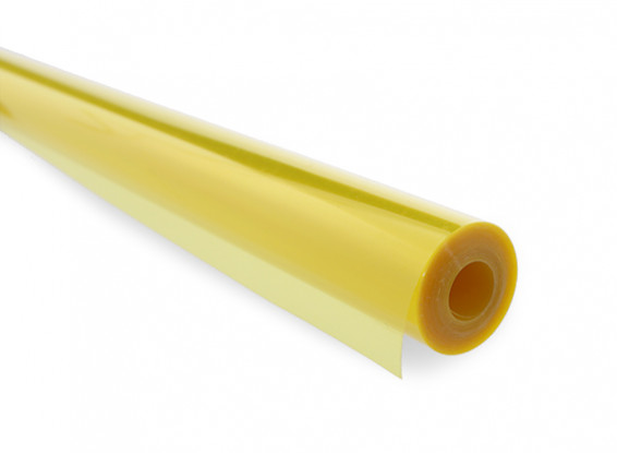 Bedecken Film Transparent Gelb (5mtr) 203
