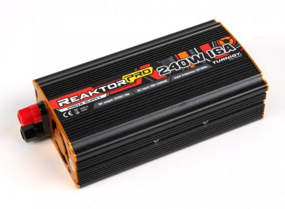 Turnigy REAKTOR Pro 240W 16A Stromversorgung (100 ~ 240V AC)