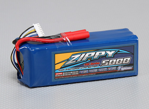 ZIPPY FlightMax 5000mAh 6S1P 15C