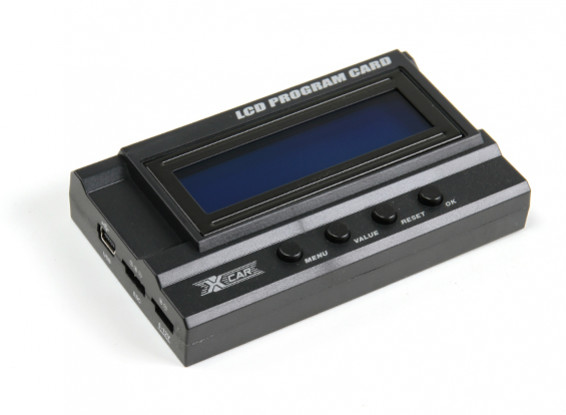 HobbyKing® ™ X-Car Beast Serie LCD-Programm-Karte