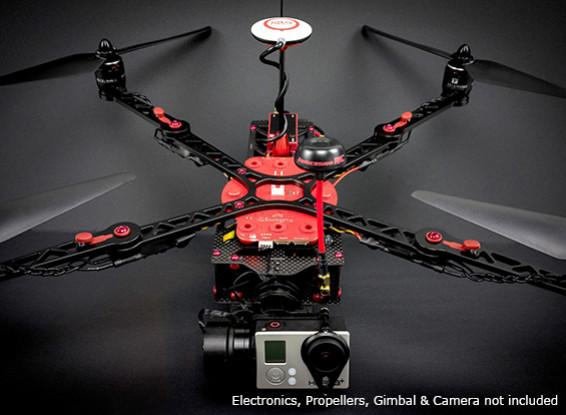 ImmersionRC Xugong V2 Pro Quadcopter Kit mit integriertem Printed Verteiler