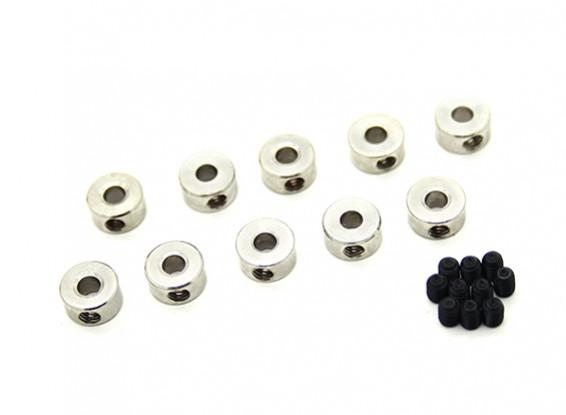 Fahrwerk Rad-Anschlaghülse für 3mm Achse (10 Stück)