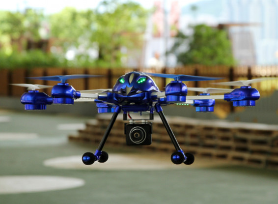 W609-8 Pathfinder 2 Hexcopter mit 5.8Ghz FPV System / Mode 2 / US-Stecker (RTF)