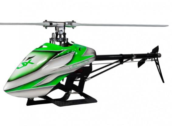 RJX Vectron 520 Elektro-Flybarless 3D Helicopter Kit (Grün)