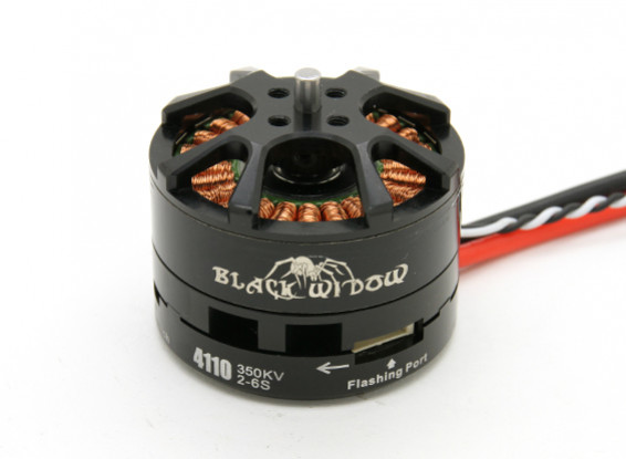 Black Widow 4110-350Kv Mit Built-In ESC CW / CCW