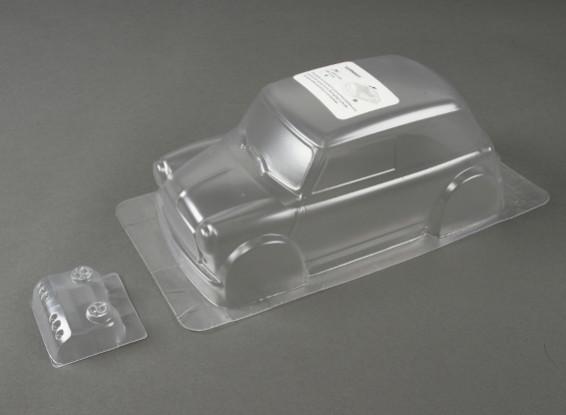 1.10 Mini Cooper Clear Body Shell (für M-Chassis)