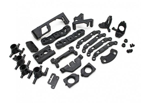 Verstärkte Kunststoffteile Set - Turnigy TZ4 AWD - Turnigy TZ4 AWD