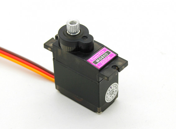 Towerpro MG90D 360 Grad Mini Digital Robotic Servo 2.4kg / 0.048sec / 13g