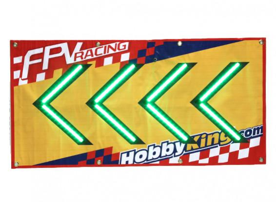 FPV Racing LED-Pfeil-Zeichen (link)