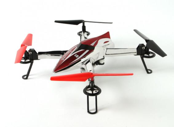 WLtoys Q212G Spaceship FPV Quadcopter w / 5.8GHz HD-Kamera und HD-Monitor RTF (Mode 2)