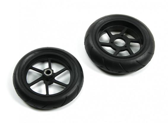 BSR 1000R Ersatzteile - Räder und Reifen Set