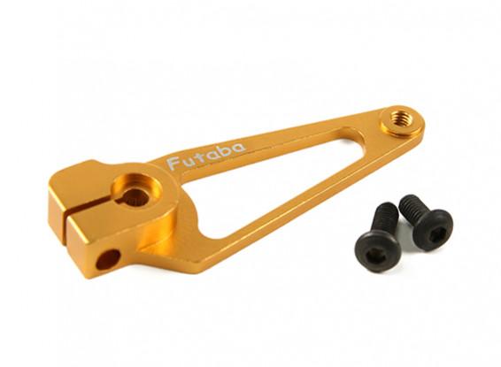 CNC Aluminium Servo Arm - Futaba (Gold)