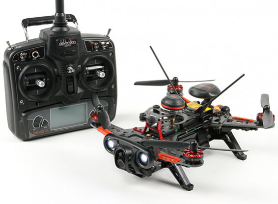 Walkera Runner 250R RTF GPS FPV Quadcopter w / Mode 2 Devo 7 / Batterie / HD DVR 1080P Kamera / VTX / OSD