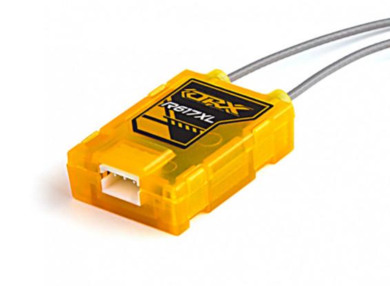 R617XL - DSM2 / x 6CH Empfänger mit langen Antenne und CPPM