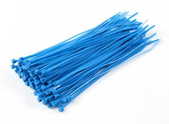 Kabelbinder 200mm x 4mm Blau (100pcs)