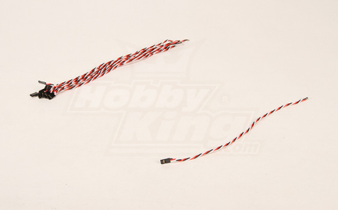30cm Male 22AWG Verdrehte (10pcs / bag)
