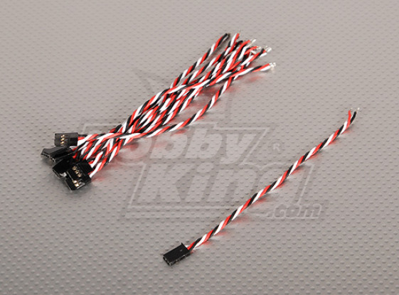 15cm Male 22AWG Verdrehte (10pcs / bag)